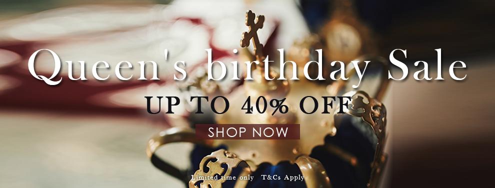 Queen's Birthday Sale