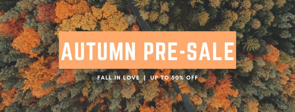 Autumn Stocktake Sale