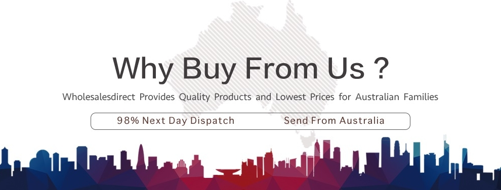 Why buy from us? Australian. Quality. Fast shipping.