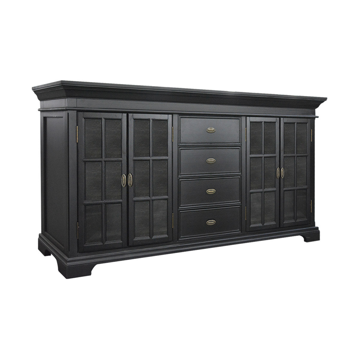 French Kitchen Dresser: French Provincial Furniture Large Kitchen Cabinet