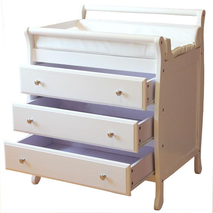 3 drawer changing table ebay. Black Bedroom Furniture Sets. Home Design Ideas