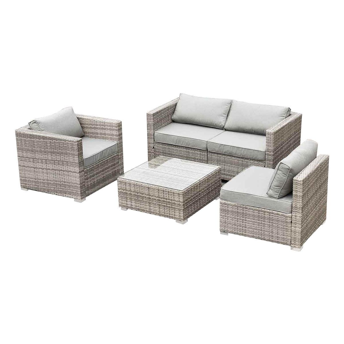 5PC-Outdoor-Sofa-Coffee-Table-Set-Modular-Lounge-Wicker-Rattan-Setting-Furniture