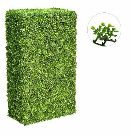 Large Portable Boxwood Hedges Uv Stabilised 2m By 1m