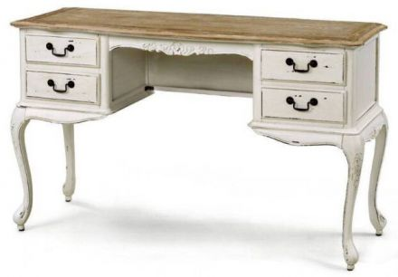 French Provincial Furniture White Dressing Table