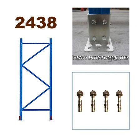 Pallet Racking Upright Frame 2438mm