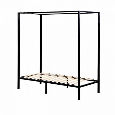 4 Four Poster Single Bed Frame
