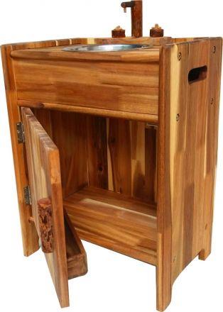 Natural Wooden Sink