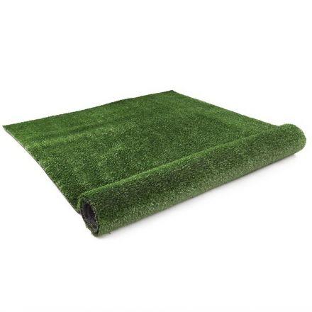 Artificial Grass 20 Sqm Polyethylene Lawn Flooring 2x10m Olive Green