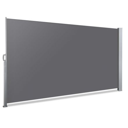 Retractable Side Awning Shade 200cm Grey