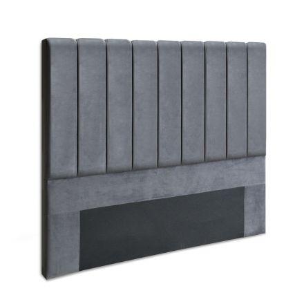 Artiss Double Size Bed Head Headboard Bedhead Bed Frame Base Vela Grey Fabric