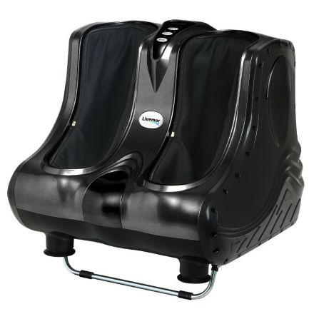 Calf & Foot Massager Black