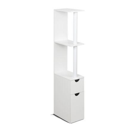 Freestanding Bathroom Storage Cabinet White