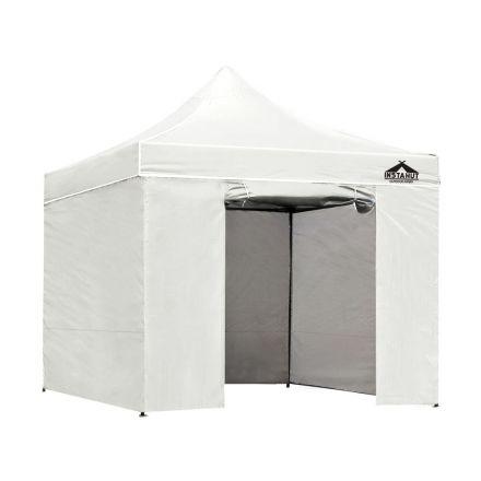 3x3 Pop Up Gazebo Hut With Sandbags White