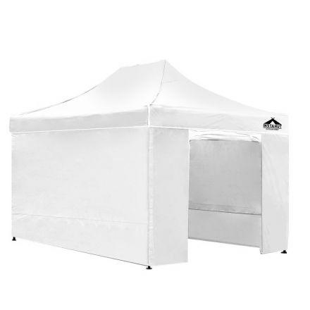 3x4.5 Pop Up Gazebo Hut With Sandbags