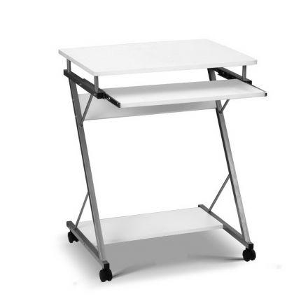 Computer Desk With Shelf White