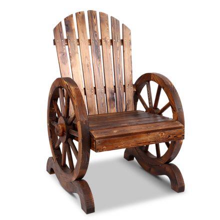 Gardeon Wooden Wagon Chair Outdoor