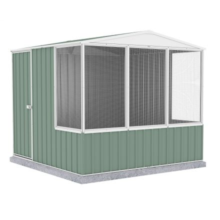 Absco 2.26mw X 2.22md X 2.00mh Aviary - Full Door