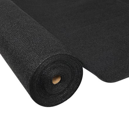 Instahut 70% Uv Sun Shade Cloth Shadecloth Sail Roll Mesh Garden Outdoor 1.83x20m Black