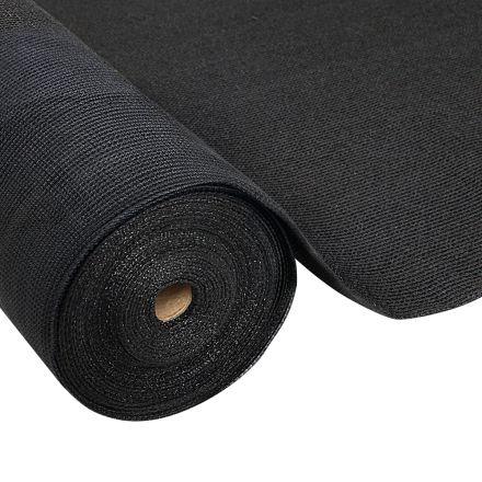 Instahut 3.66x30m 30% Uv Shade Cloth Shadecloth Sail Garden Mesh Roll Outdoor Black