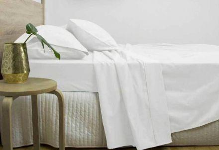 King Size 3000tc Cotton Rich Sheet Set (white Color)