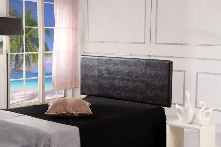 Pu Leather Double Bed Headboard Bedhead - Brown