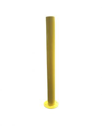 Yellow Heavy Duty Steel Bollard Post