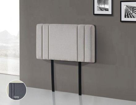 Linen Fabric Single Bed Deluxe Headboard Bedhead - Beige