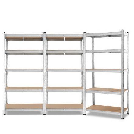 Giantz 3x0.9m Warehouse Shelving Racking Storage Garage Steel Metal Shelves Rack