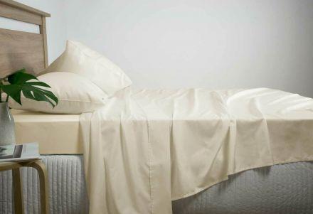 Queen Size 2500tc Cotton Rich Sheet Set (linen Color)