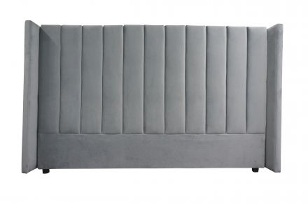 Isla King Upholstered Winged Bed Headboard