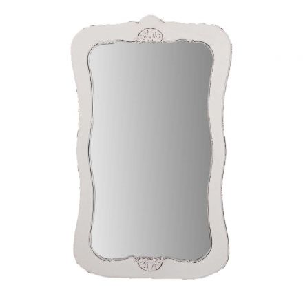 French Provincial Dressing Mirror in Louise White