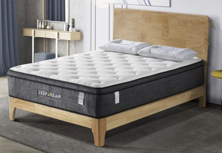 Eurotop Mattress 5 Zone Pocket Spring Latex Foam 34cm - Double