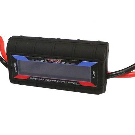 150a Watt Meter Power Analyzer Digital Lcd Solar Volt Amp Anderson Style Plug Au