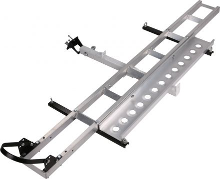 "Ultra Tools Aluminium Motorcycle Motorbike Carrier 2"" Hitch Mount Rack Ramp Bike Towbar"