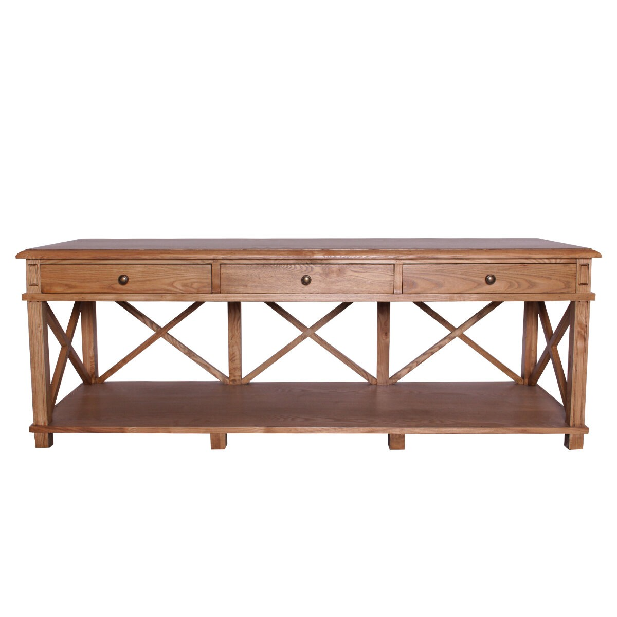 French Classic Console Desk Buffet With 3 Drawers Wholesales Direct