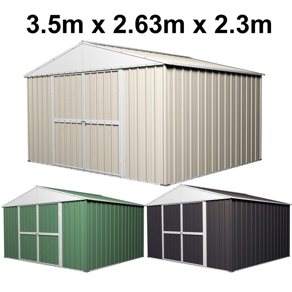 garden shed 35m x 263m x 23m