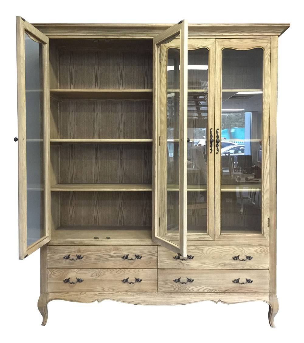 custom with cabinet in built shelving cabinets hutch painted bookcase about img street white
