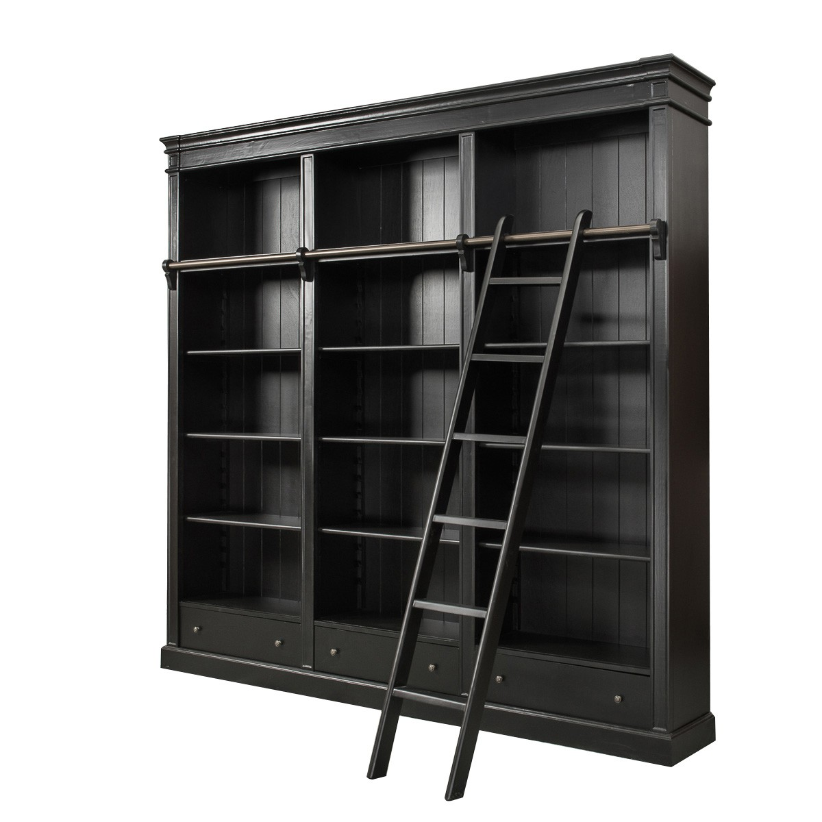 Sleeping Pods French Provincial Hamptons Open Library Bookcase With
