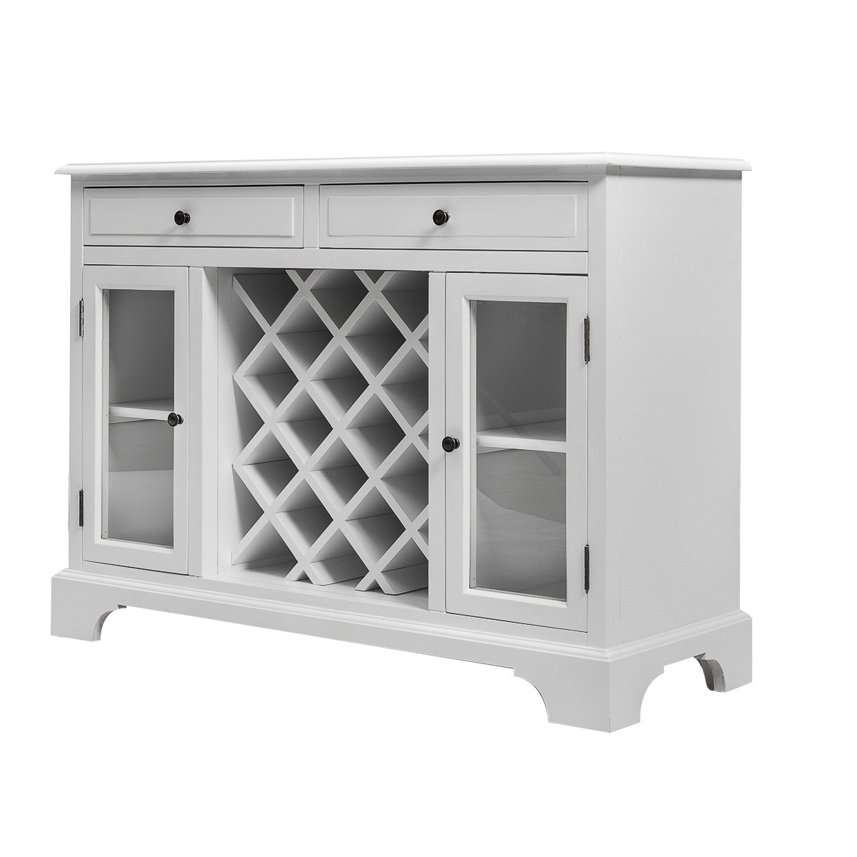 Picture of: French Provincial Classic Wine Cabinet Buffet In White Wholesales Direct