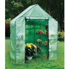 EcoPro 143 x 143 x 195cm Walk-in Tunnel Greenhouse PE Cover Plant Garden Shade