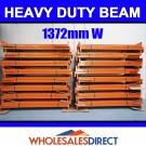 1372mm 2850kg Pallet Racking Beam Dexion Compatible