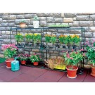2x3 Tier Plant  Shelve Garden Greenhouse Storage Shelving Stand Rack