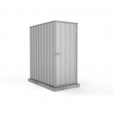Absco 0.78mw X 1.52md X 1.80mh Ezi Storage Garden Shed Zincalume