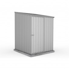 Absco 1.52mw X 1.52md X 2.08mh Space Saver Garden Shed Zincalume