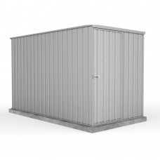Absco 1.52mw X 3.00md X 1.80mh Basic Garden Shed Zincalume