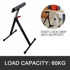Adjustable & Foldable Single Roller Stand with Electronic Plate