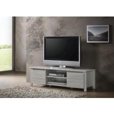 Tv Stand Entertainment Unit 120cm In White Oak