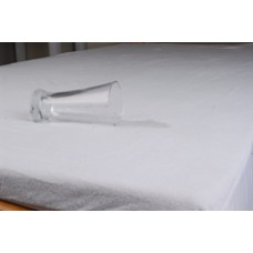Double Mattress Protector - Waterproof Terry W Skirt