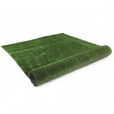 Artificial Grass 10 Sqm Polypropylene Lawn Flooring 15mm Olive