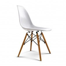 Set Of 2 Replica Eames Eiffel Dining Chairs White
